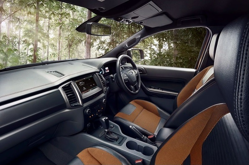 2015 Ford Ragner Wildtrak - Interior_