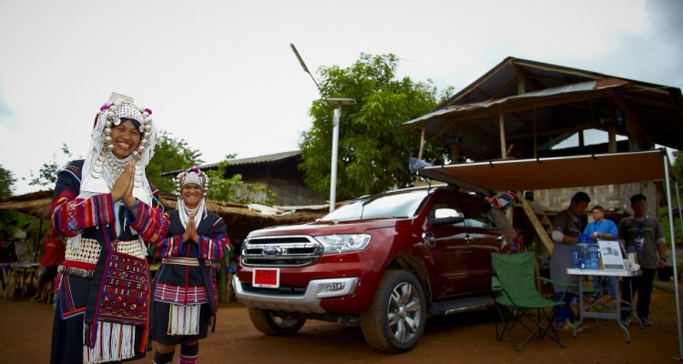Ford Everest drive 019