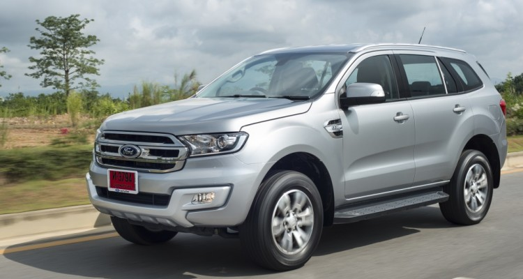 Ford Everest on location 014