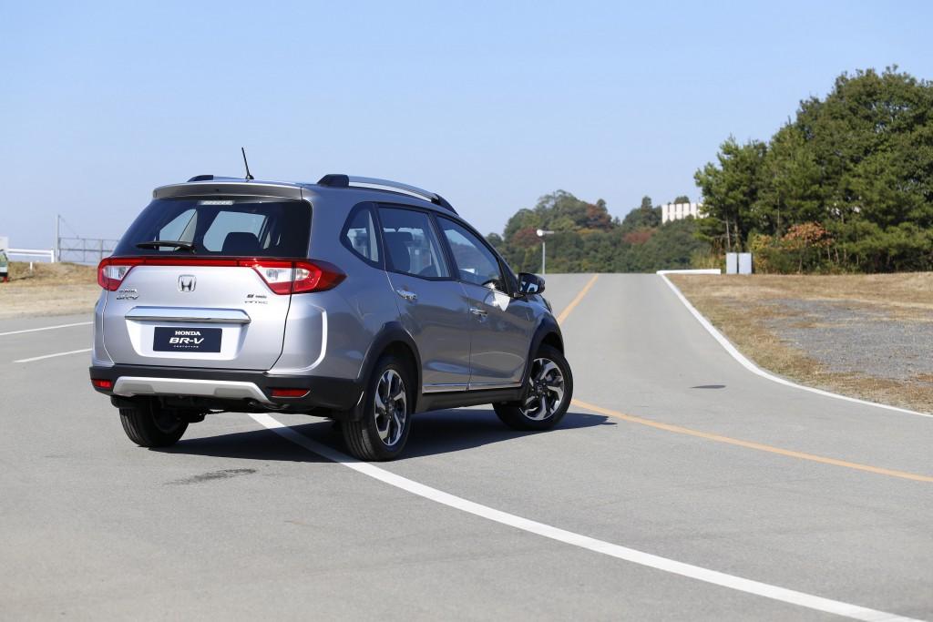 Honda BR-V_Exterior Design - Rear