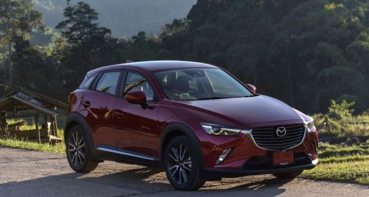 Mazda CX-3 เบนซิน ตระกูล ลินทมิตร driveautoblog