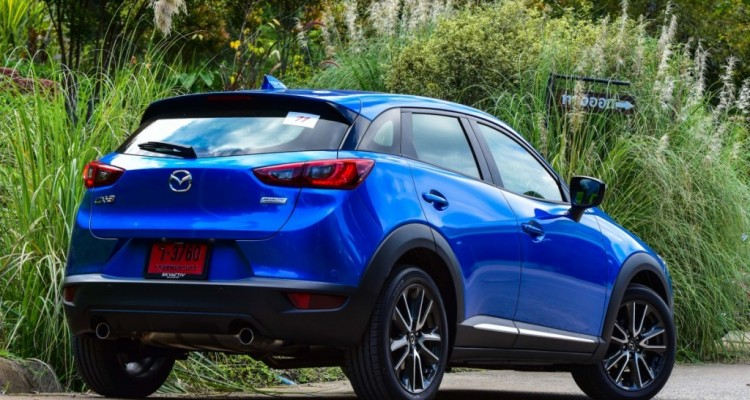 Mazda CX-3 เบนซิน ตระกูล ลินมิตร driveautoblog (4)