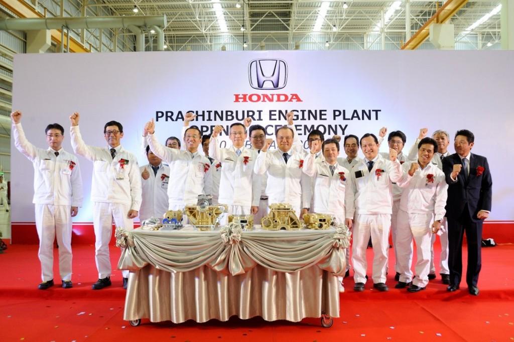 Honda's new Prachinburi plant