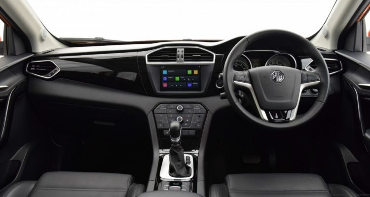 2016 MG GS interior  driveautoblog Testdrive (5)