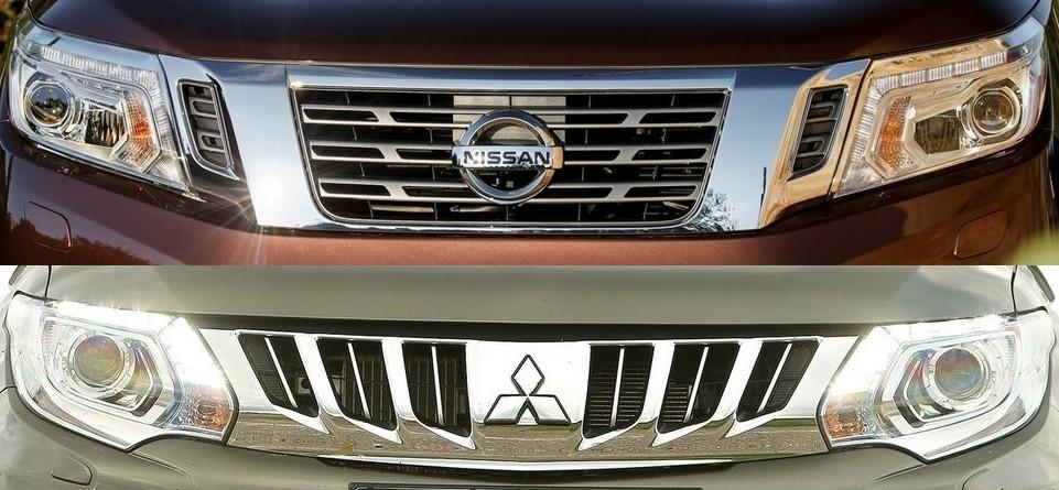 Nissan NP300 NAVARA Mitsubishi L200 Triton driveautoblog
