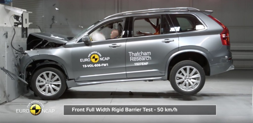 Volvo XC90 Crash Test 1