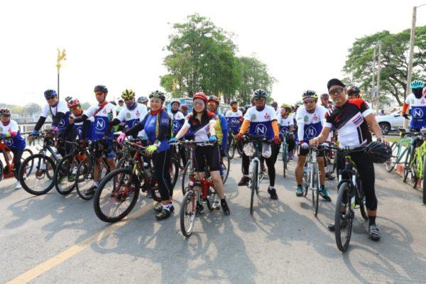 มิตซูฯ ปั่นจักรยานท่องเที่ยว 2
