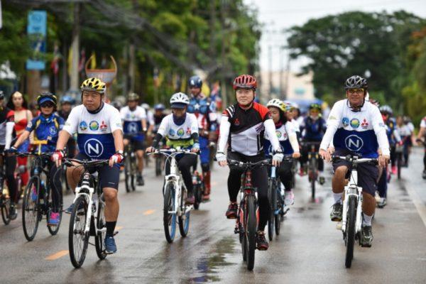 มิตซูฯ ปั่นจักรยานท่องเที่ยว 7