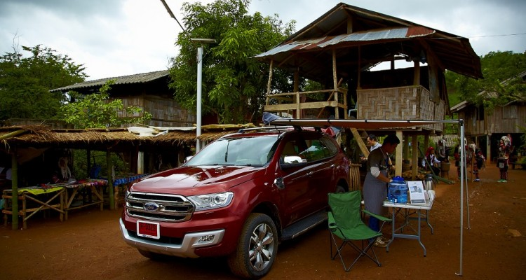 Ford Everest drive 018
