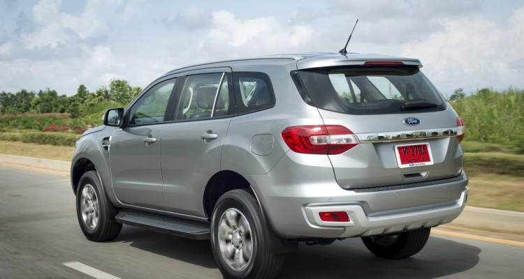 Ford Everest on location 015