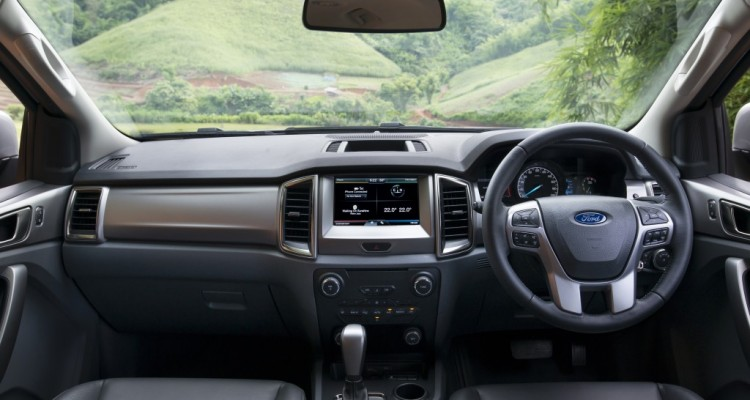 Ford Everest on location 018