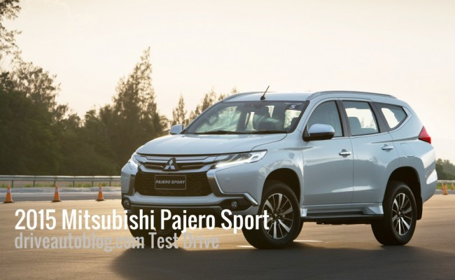 2015 All New Mitsubishi Pajero Sport ปก