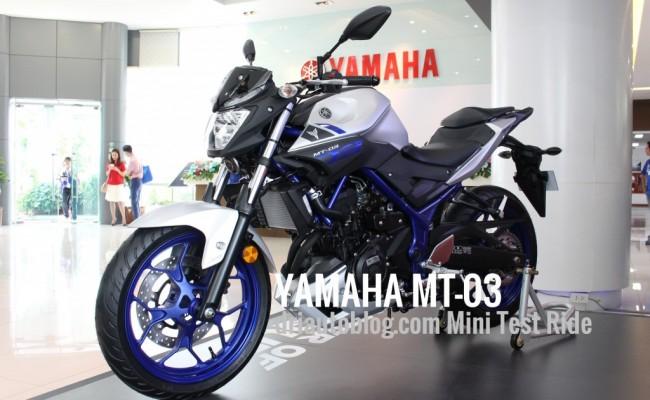 2015 Yamaha MT-03 ปก 1