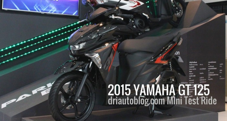 2015 Yamaha GT 125 ปก