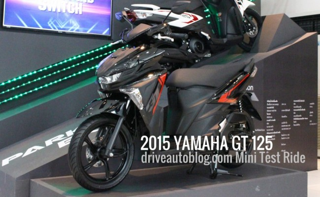 2015 Yamaha GT 125 ปก__