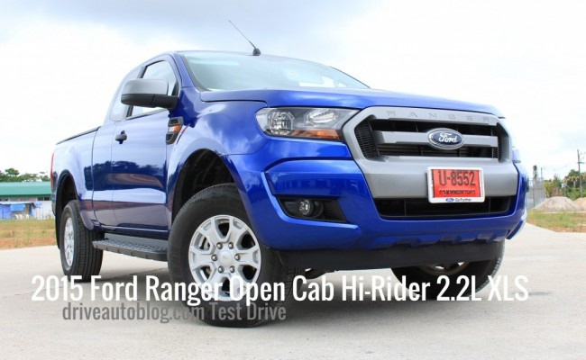 2015 Ford Ranger 2.2 Open Cab Hi-Rider XLS ปกใหม่__