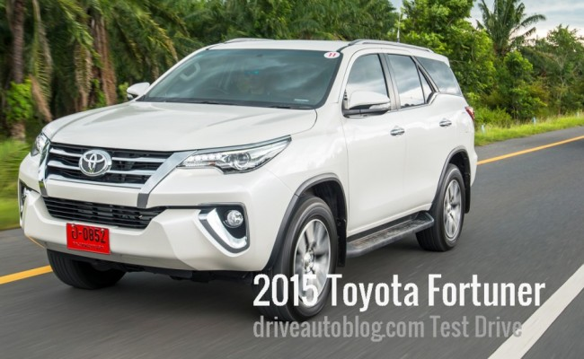 Toyota Fortuner Review Cover